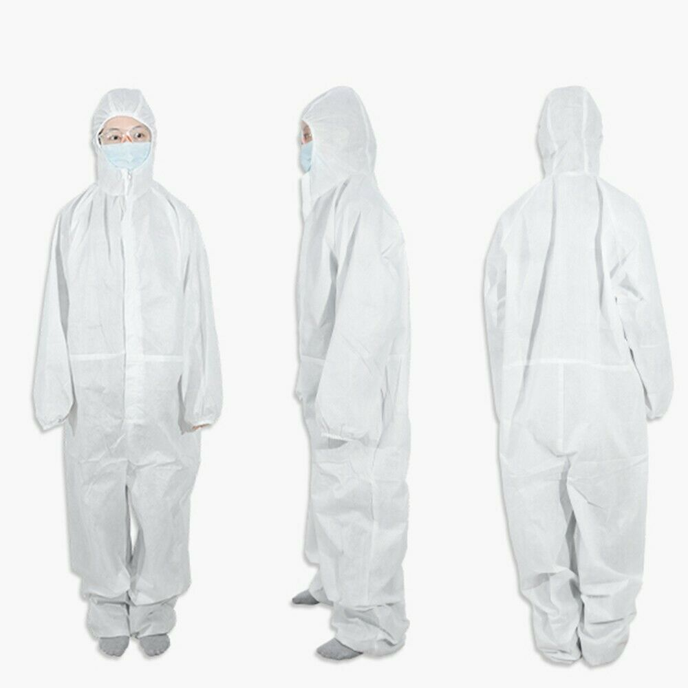 Disposable Isolation Coverall SyncSol